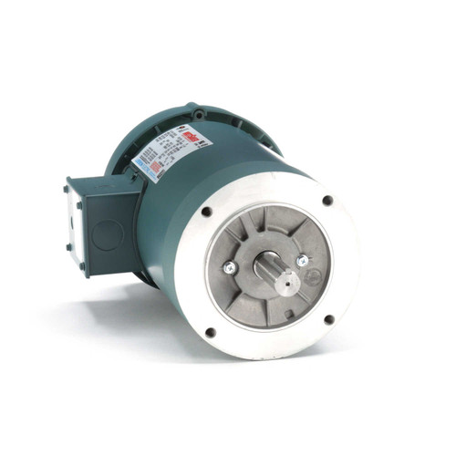 122167.00 Leeson |  2 hp 3600 RPM 145TC Frame TEFC C-Face (No Base) 230/460V