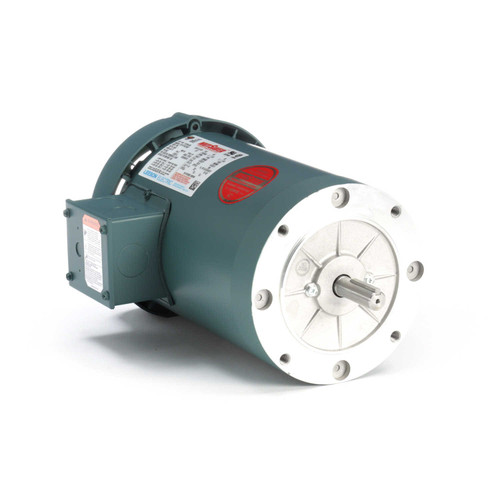 116744.00 Leeson |  2 hp 1800 RPM 56C Frame TEFC C-Face (No Base) 230/460V