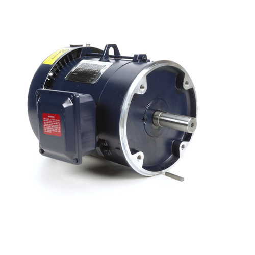 2 hp 1200 RPM 184TC Frame TEFC C-Face (No Base) 230/460V Marathon Electric Motor # GT1308A