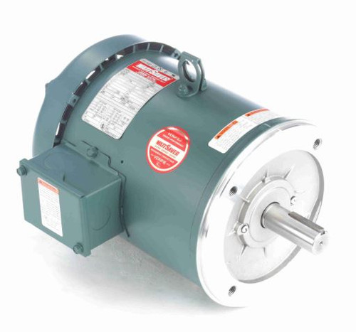 131503.00 Leeson |  3 hp 1800 RPM 182TC Frame TEFC C-Face (No Base) 230/460V