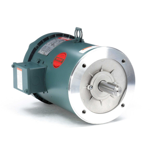 131501.00 Leeson |  5 hp 1800 RPM 184TC Frame TEFC C-Face (No Base) 230/460V