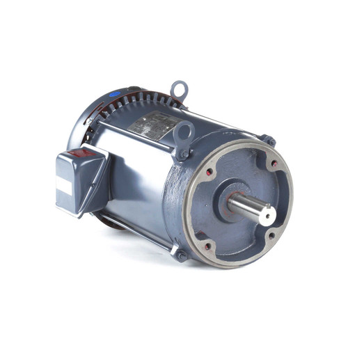 GT1314A Marathon 5 hp 1200 RPM 215TC Frame TEFC C-Face (No Base) 230/460V Marathon Electric Motor