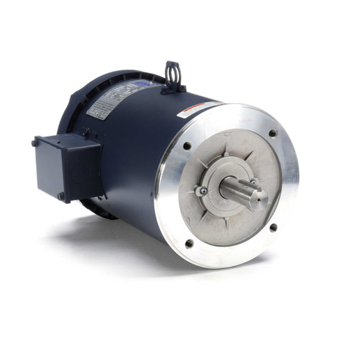 132561.00 Leeson |  7.5 hp 3600 RPM 184TC Frame TEFC C-Face (No Base) 230/460V