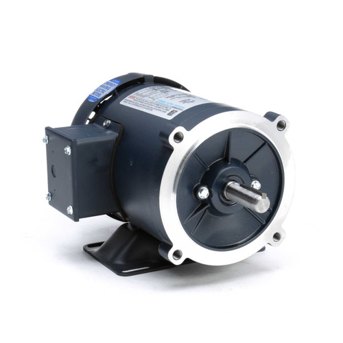 102922.00 Leeson |  1/3 hp 1800 RPM 56C Frame TEFC C-Face (Rigid Base) 208-230/460V