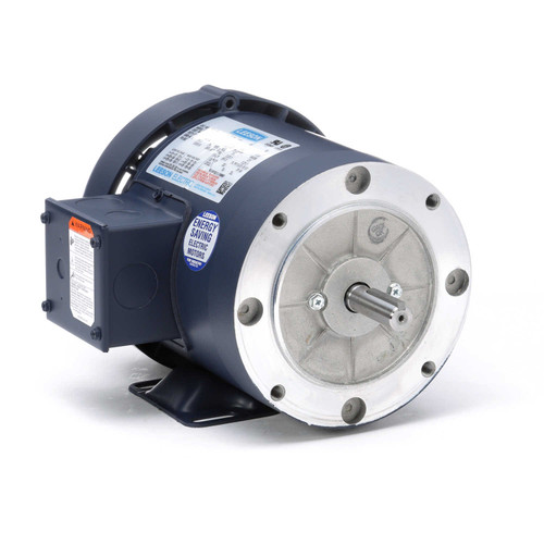 114142.00 Leeson |  1/2 hp 3600 RPM 56C Frame TEFC C-Face (Rigid Base) 208-230/460V