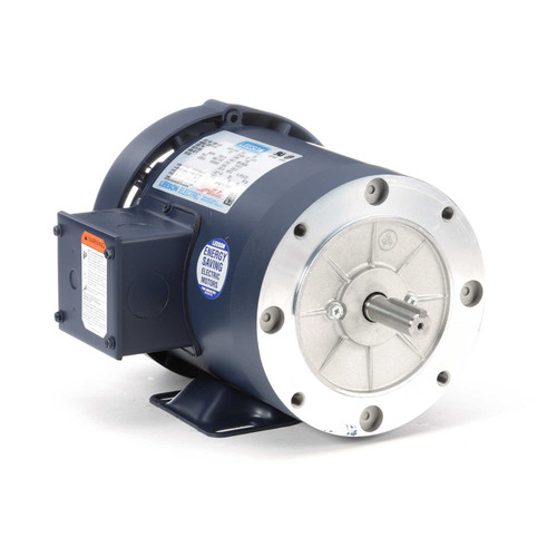 110914.00 Leeson |  1/2 hp 1200 RPM 56C Frame TEFC C-Face (Rigid Base) 208-230/460V