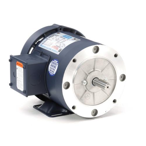110181.00 Leeson |  1 hp 3600 RPM 56C Frame TEFC C-Face (Rigid Base) 230/460V