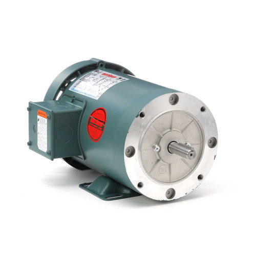 116746.00 Leeson |  1.5 hp 1800 RPM 56C Frame TEFC C-Face (Rigid Base) 230/460V