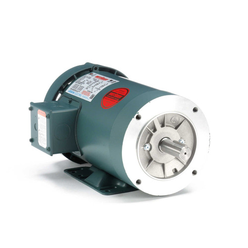 121181.00 Leeson |  2 hp 1800 RPM 145TC Frame TEFC C-Face (Rigid Base) 230/460V
