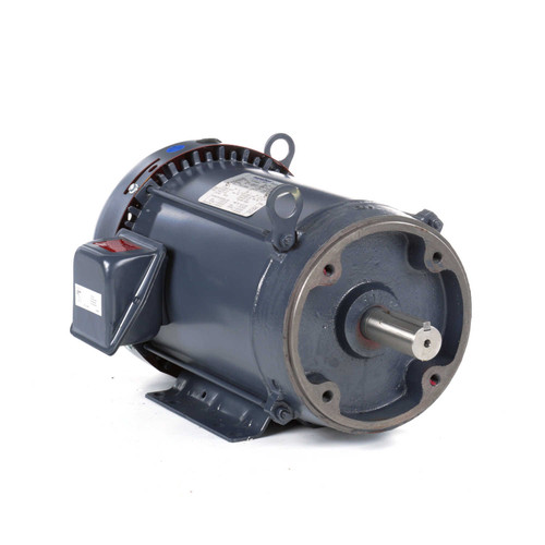 GT1214A Marathon 5 hp 1200 RPM 215TC Frame TEFC C-Face (Rigid Base) 230/460V Marathon Electric Motor