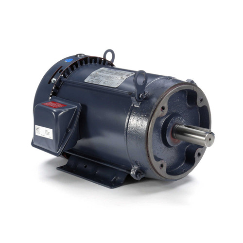 GT1215A Marathon 7.5 hp 3600 RPM 213TC Frame TEFC C-Face (Rigid Base) 230/460V Marathon Electric Motor