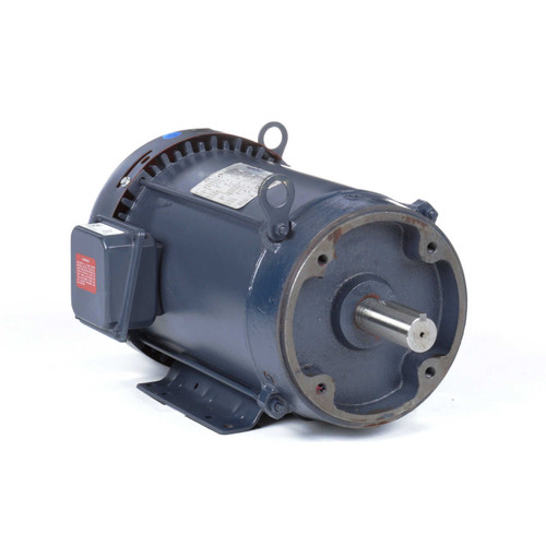 GT1218A Marathon 10 hp 3600 RPM 215TC Frame TEFC C-Face (Rigid Base) 230/460V Marathon Electric Motor