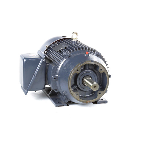 10 hp 1200 RPM 256TC Frame TEFC C-Face (Rigid Base) 230/460V Marathon Electric Motor # GT1220A