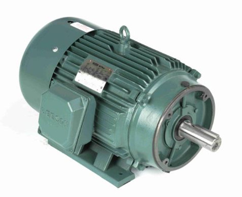 170620.60 Leeson |  30 hp 3550 RPM 286TC Frame TEFC C-Face (Rigid Base) 208-230/460V