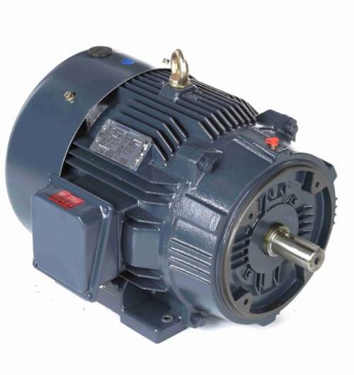 60 hp 3600 RPM 364TSC Frame TEFC C-Face (Rigid Base) 230/460V Marathon Electric Motor # GT1239A