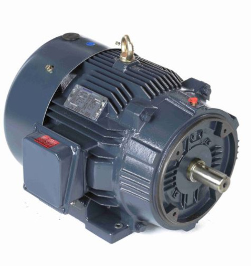 60 hp 1800 RPM 364TC Frame TEFC C-Face (Rigid Base) 230/460V Marathon Electric Motor # GT1240A