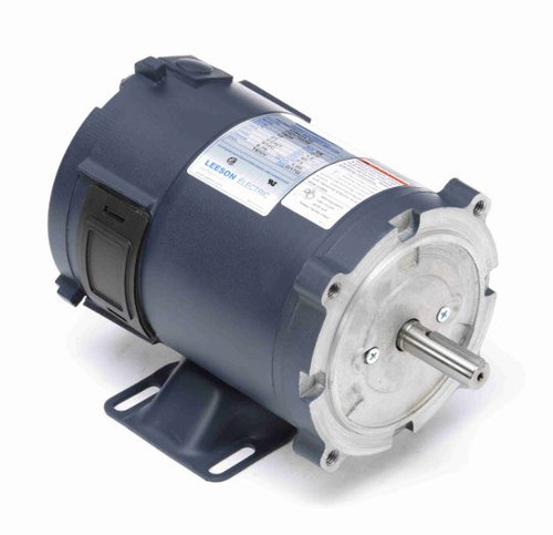 108045.00 Leeson |  1/4 hp 1800 RPM 56C Frame 12 Volts DC TENV