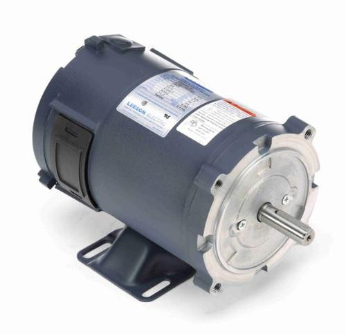 108050.00 Leeson |  1/3 hp 1800 RPM 56C Frame 24 Volts DC TENV