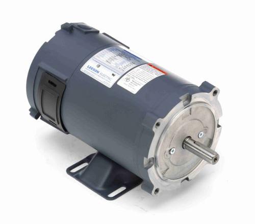 108047.00 Leeson |  1/2 hp 1800 RPM 56C Frame 12 Volts DC TENV