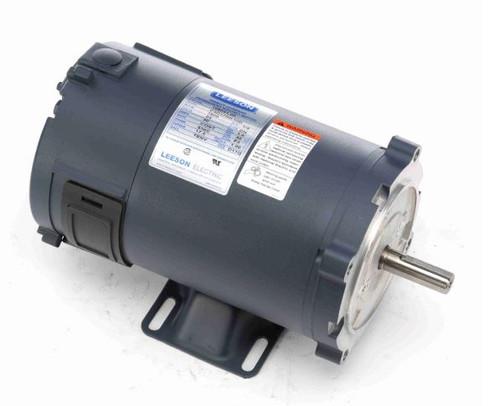 1/2 hp 1800 RPM 56C Frame 24V DC TENV Leeson Electric Motor # 108051