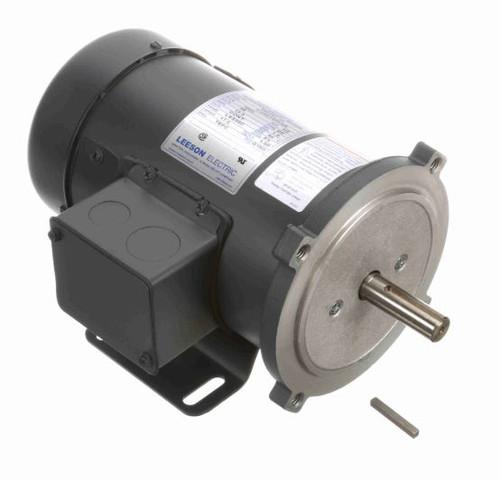 1/2 hp 1800 RPM 56C Frame 36V DC TEFC Leeson Electric Motor # 098381