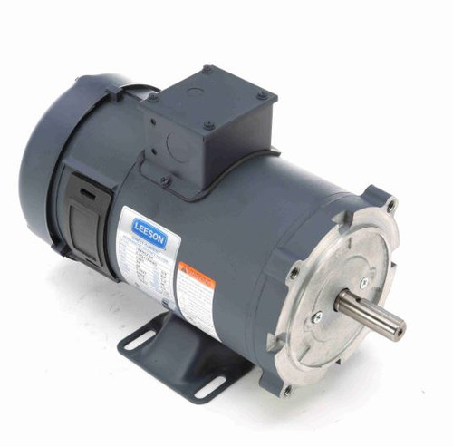 108052.00 Leeson |  3/4 hp 1800 RPM 56C Frame 24 volts DC TEFC