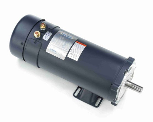 1.5 hp 1800 RPM 56CZ Frame 24V DC TEFC Leeson Electric Motor # 109103