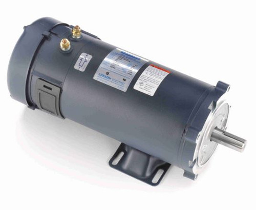 1.5 hp 1800 RPM 56CZ Frame 36V DC TEFC Leeson Electric Motor # 109104