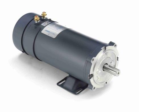 2 hp 1800 RPM 56CZ Frame 48V DC TEFC Leeson Electric Motor # 109108