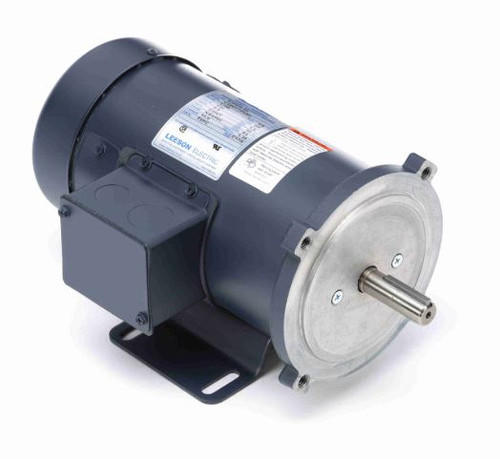 098007.00 Leeson |  1/2 hp 2500 RPM 180 Volts DC 56C Frame TEFC