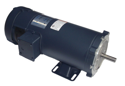 098000.00 Leeson |  1/2 hp 1750 RPM 90 Volts DC 56C Frame TEFC