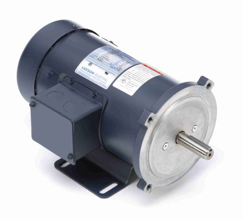 098008.00 Leeson |  1/2 hp 1800 RPM 180 Volts DC 56C Frame TEFC