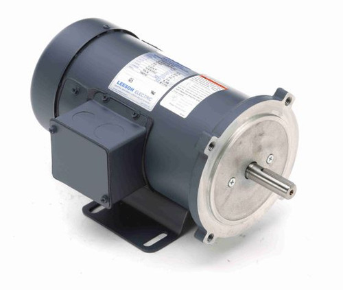 098009.00 Leeson |  3/4 hp 2500 RPM 90 Volts DC 56C Frame TEFC