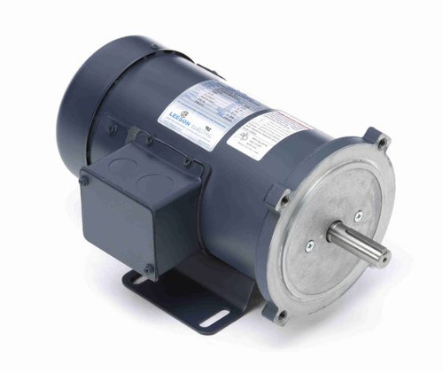 098010.10 Leeson |  3/4 hp 2500 RPM 180 Volts DC 56C Frame TEFC