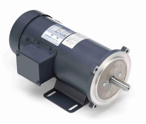 3/4 hp 1800 RPM 90V DC 56C Frame TEFC Leeson Electric Motor # 098032