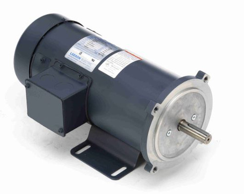 098069.00 Leeson |  3/4 hp 1800 RPM 180 Volts DC 56C Frame TEFC