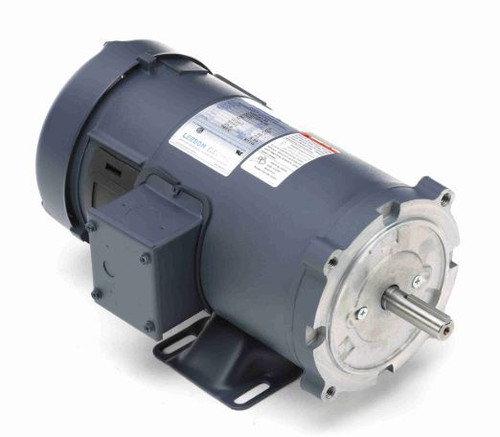 108020.00 Leeson |  1 hp 2500 RPM 90 Volts DC 56C Frame TEFC
