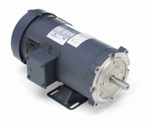 1 hp 2500 RPM 180V DC 56C Frame TEFC Leeson Electric Motor # 108021