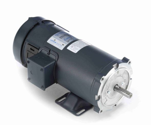 108265.00 Leeson |  1.5 hp 2500 RPM 180 Volts DC 56C Frame TEFC