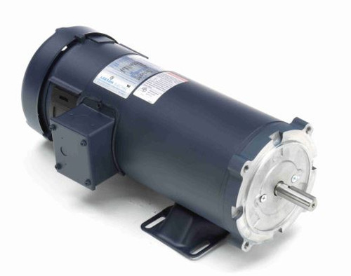 108092.00 Leeson |  1.5 hp 1800 RPM 180 Volts DC 56C Frame TEFC