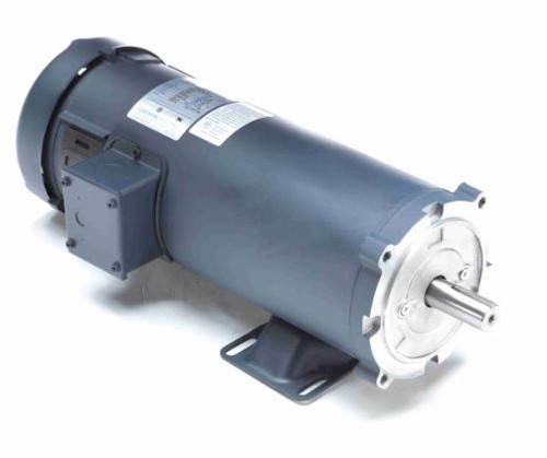 2 hp 2500 RPM 180V DC 56/145TC Frame TEFC Leeson Electric Motor # 108266
