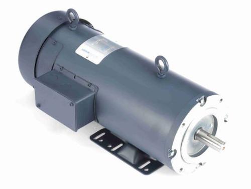 2 hp 1800 RPM 180V DC 145TC Frame TEFC Leeson Electric Motor # 128010