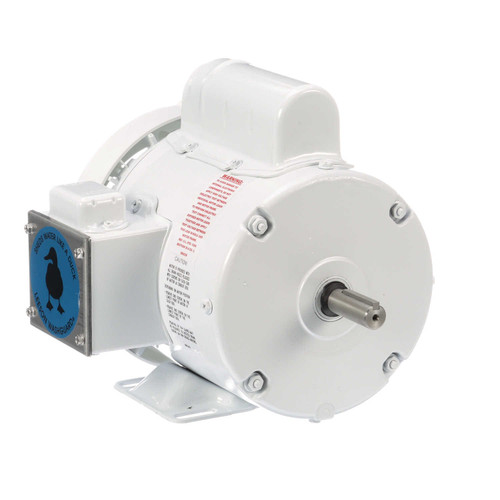 112431.00 Leeson |  1/2 hp 1800 RPM 56 Frame 115/208-230 Volts Wash Down Duty