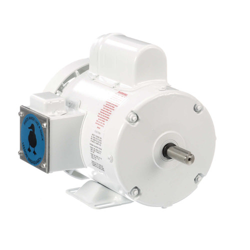 112432.00 Leeson |  3/4 hp 1800 RPM 56 Frame 115/208-230 Volts Wash Down Duty