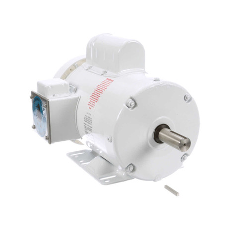 1.5 hp 1800 RPM 145T Frame 115/208-230V Wash Down Duty Leeson Electric Motor # 120590