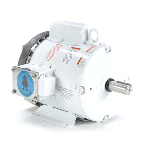 131571.00 Leeson |  2 hp 1800 RPM 182T Frame 115/208-230 Volts Wash Down Duty