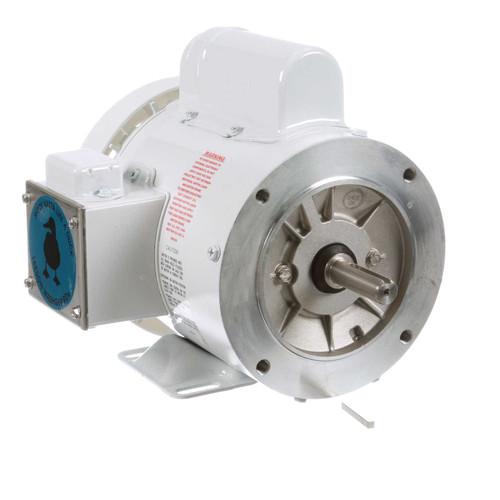 113580.00 Leeson |  1/3 hp 3600 RPM 56C Frame (Rigid Base) C-Face 115/208-230V Wash Down Duty