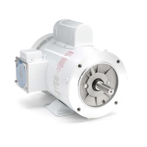 113584.00 Leeson |  1.5 hp 3600 RPM 56C Frame (Rigid Base) C-Face 115/208-230V Wash Down Duty