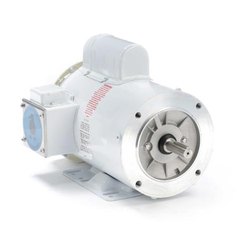 113300.00 Leeson |  1.5 hp 1800 RPM 56HC Frame (Rigid Base) C-Face 115/208-230V Wash Down Duty