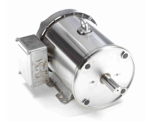3 hp 3600 RPM 182TC Frame 230/460V Stainless Steel Leeson Electric Motor # 132203